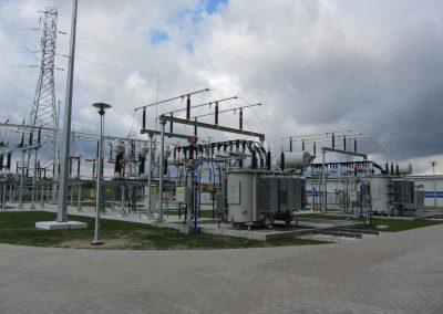 2.SE 110/15kV Bydgoszcz Niwy - Stanowiska transformatorów 110/15kV