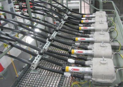3.SE 110/15kV Jelonki - Odejście kabli 15kV z transformatora 110/15kV