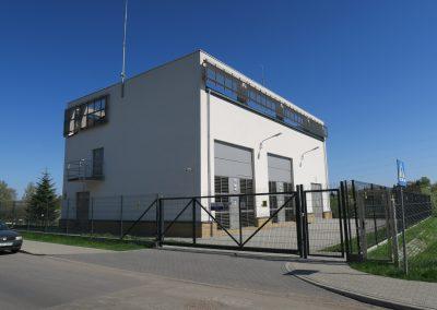 1.SE 110/15kV Lublin Dziesiąta - Widok budynku od strony ulicy Dziesiątej