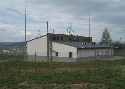 2.SE 110/15kV Przemyśl Głęboka - Budynek stacij widok od strony nastawni i rozdzielni 15kV