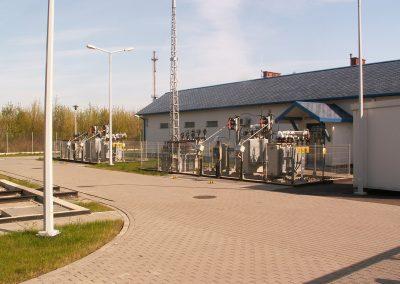 2.SE 110/15kV Stobiecko w Radomsku - Stanowisko zespołów kompensacyjnych 15/0,4kV